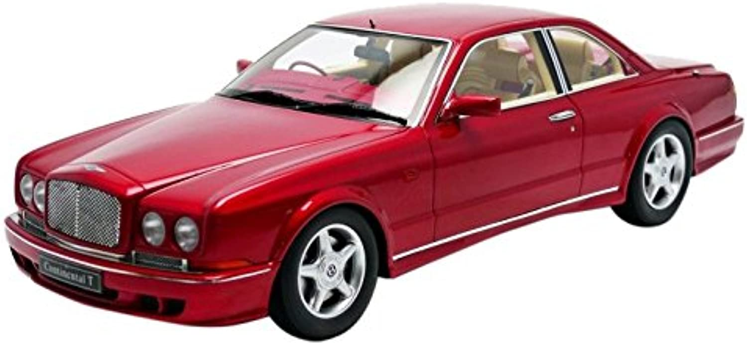 Minichamps–107139940–Bentley Continental T–1996–1 18–Rot Metall