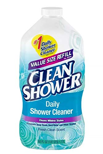Clean+Shower++No+Scent+Basin+Tub+and+Tile+Cleaner++60+oz.+Liquid