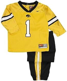 NIKE Iowa Hawkeyes Baby Football Jersey Uniform