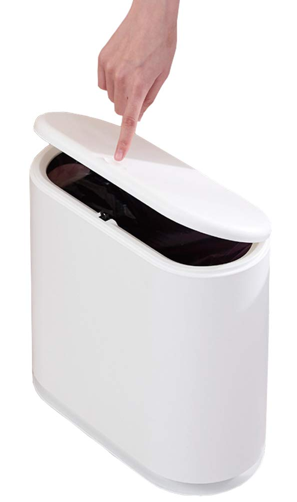Sooyee Rectangular Wastebasket Container Bathroom
