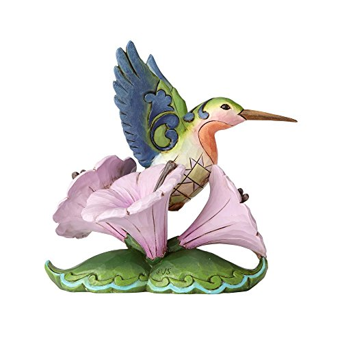 Enesco Jim Shore Heartwood Creek Mini-Kolibri-Figur, Mehrfarbig