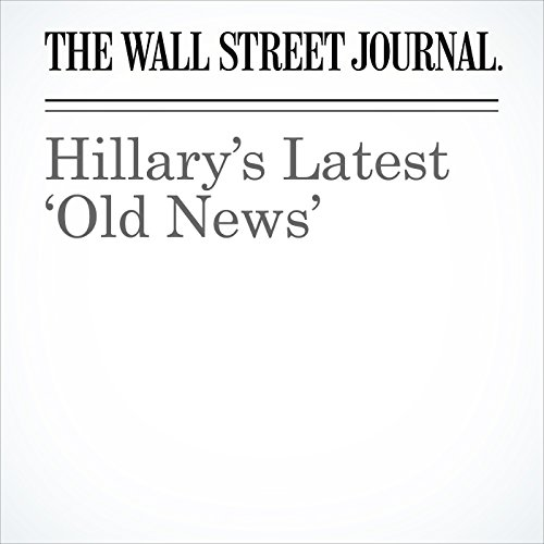 Hillary's Latest 'Old News' cover art