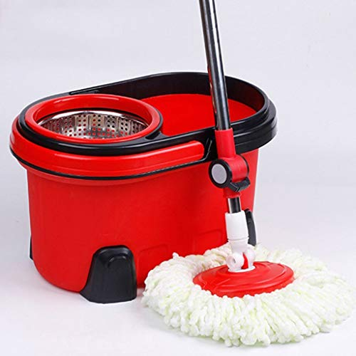 Fantastic Deal! QYLSH 360 ° Rotation of The Floor Bucket and Wrung Magic Set - Automatic Cleaning S...