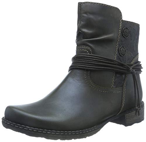 Remonte Damen D4363 Biker Boots, Braun (Ebony/Antik 27), 39 EU