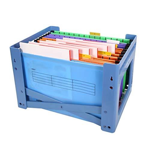Organizzatore di file Cartella portadocumenti in materiale plastico PP per ufficio Accessori da scrivania