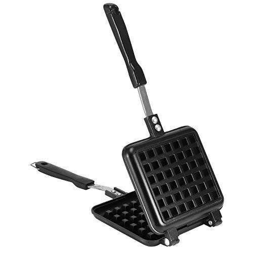 Molde de waffle, aquecimento uniforme, resistente e durável, máquina de waffle prática para cozinha doméstica para hotel para restaurante