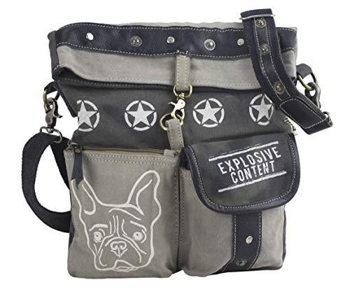 Sunsa Damväska axelväska handväska canvas & läderväska med jeans väskor denim liten axelväska damväskor vintage crossbody handväskor tonåring mode rea läderhandväska