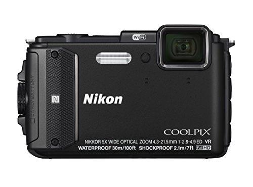 Nikon デジタルカメラ COOLPIX AW130 ブラック BK