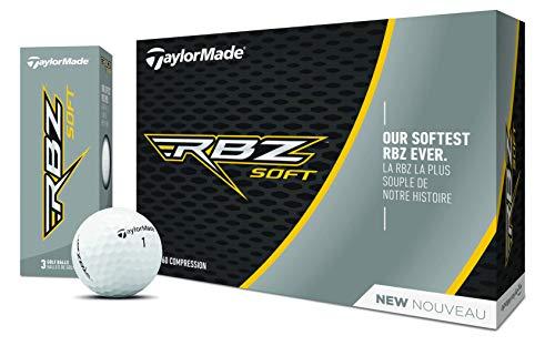 TaylorMade Rbz Golfbälle, weich, 12 Stück (2019), Unisex, M7163401, weiß, One Dozen