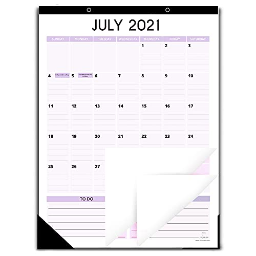 Fridge Calendar 2021-2022 for Refrigerator by StriveZen, 12x16 Inches, Large Monthly Magnetic Calendar, Vertical, Jul 2021-Dec 2022, Perfect for Fridge, Locker, Cabinets, Home-Office, Busy Families