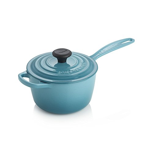 Le Creuset Enameled Cast Iron Saucepan, 1-3/4-Quart