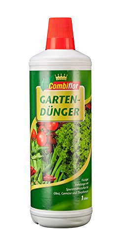 Combiflor Gartendünger für alle Gartenkulturen, Erdbeeren, Feingemüse Zierpflanzen