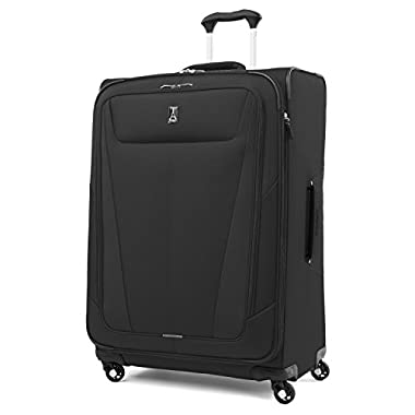 Travelpro Maxlite 5 29  Expandable Spinner Suitcase, Black