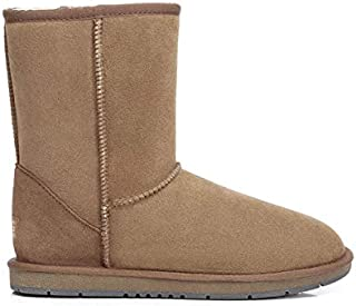 UGG Classic Short Boots for Women's Men's Uggs Premium Twinface Sheepskin Snow Boot Water Resistant Black Grey Chestnut Chocolate Shoes