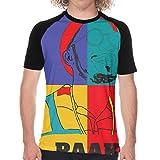 ANNAA NAME Men's T-Shirt Short Sleeve Anderson-Paak Tee for Men Black