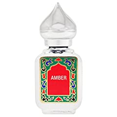 NOTE: AMBER STARTS AS A LIGHT FRAGRANCE THAT BLOOMS WITH BODY HEAT. 10ML BOTTLE Comforting and warm, amber provides a beautiful base for many fragrances; it is sweet, resinous, and woody. Packaged in a glass bottle with an elegant gold minaret cap. M...