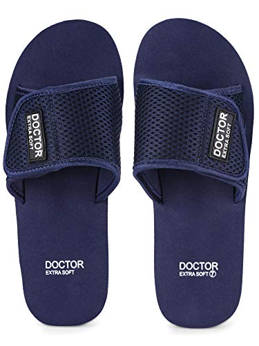 DOCTOR EXTRA SOFT Slipper for Men's - Ortho Care Orthopaedic and Diabetic Comfortable Doctor Slipper, Dr. Slipper, Flip-Flop and House Slipper for Men's OR-D-25