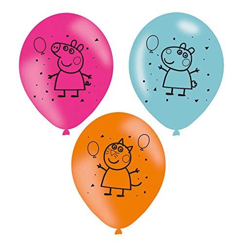 amscan 997378 Latexballons Peppa Pig