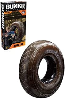 BUNKR Battlezones Take Cover Jumbo Tire Compatible with Nerf, Laser X, X-Shot & Boomco