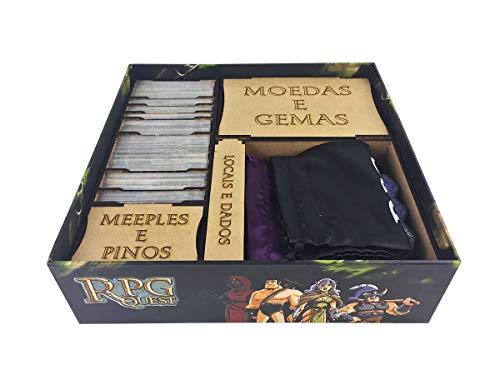 Organizador (Insert) para RPG Quest - Bucaneiros Jogos