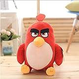 Hanyyj Peluches Pájaros Rojos Chuck Bomb Malos Cerditos Juguetes De Peluche Lindo Juguete Suave Regalo De Cumpleaños para Niños 20Cm