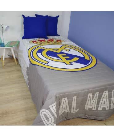 10XDIEZ Colcha Verano Real Madrid - Medidas colchas/edredones - Cama de 90cm