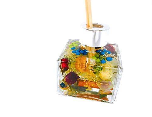 BottY(ボッティー)『ローズの香りで癒されるオシャレなアロマハーバリウム・ディフューザー150ml』