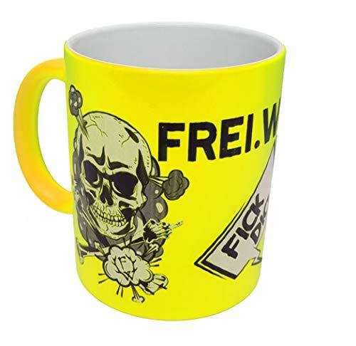 Frei.Wild - FDUVD, Tasse, Farbe: Neongelb