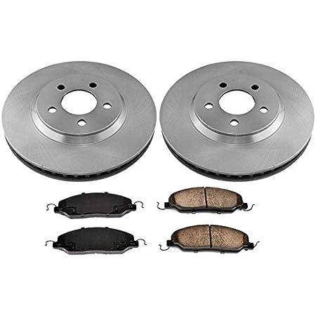 Front Rotors w//Ceramic Pads OE Brakes 2005 06 07 08 09 2010 Mustang GT