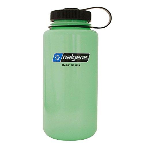 nalgene(ナルゲン) グローボトル 広口1.0L トライタンボトル グリーングロー 91298