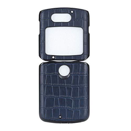 Custodia® Kunstleder Hülle Kompatibel für Motorola Razr 5G/Motorola Razr 2/Motorola Razr 2020/Motorola Razr gen 2 (2)
