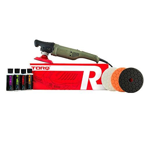 Torq BUF504X Precision Power Rotary Polisher Kit, 4 fl. oz, 9 Pack