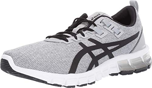 ASICS Men's Gel-Quantum 90 Running Shoes, 9.5M, MID Grey/Black
