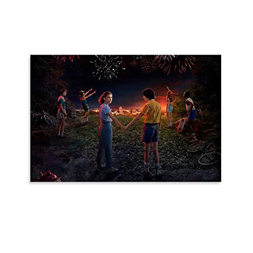 ZXCDS Post Stranger Things - Poster decorativo da parete, 30 x 45 cm
