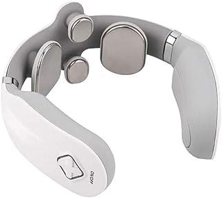 Masajeador de Cuello Inteligente, portátil, 3 Modos, 15 Pasos, Punto de activación Inteligente, masajeador de Control Remoto para Oficina al Aire Libre
