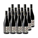 Domaine de l'Hortus Le Loup dans la Bergerie Rouge 2020 - Appellation IGP Pays d'Hérault - Vin Rouge du Languedoc - Roussillon - Lot de 12x75cl - Cépages Syrah, Merlot