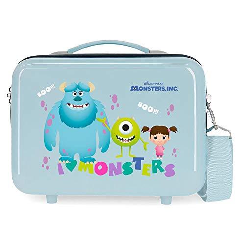 Disney Boo! Trousse adattabile blu 29 x 21 x 15 cm rigida ABS 9,14 L