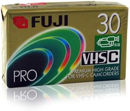 Fuji 23025031 Premium High Grade Vhs-C Video Tape (30 Min.) (Discontinued by Manufacturer)