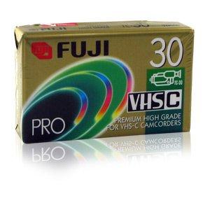 Fuji 23025031 Premium High Grade Vhs-C Video Tape (30 Min.) (Discontinued by Manufacturer)