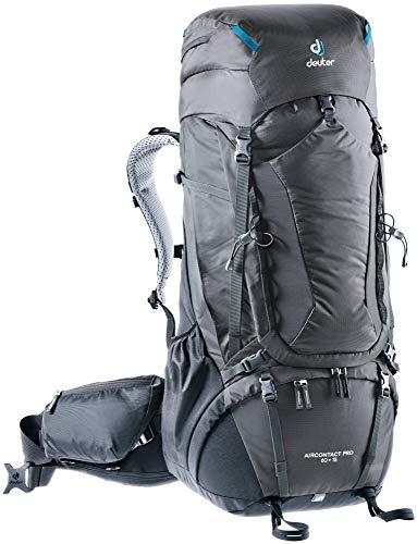 Deuter Aircontact PRO 60 + 15 Backpack, graphite-Black