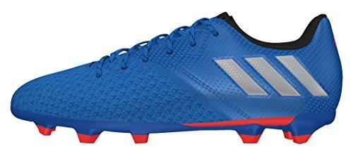 adidas Messi 16.3 FG J, Botas de fútbol para Niños, Azul (Azuimp/Plamat/Negbas), 35 1/2 EU