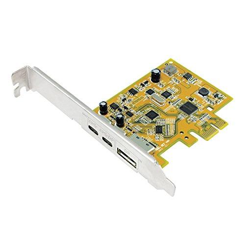 Sunix UPD2018 PCI Express Karte, USB 3.1 C Buchse, USB-C DP Alt Mode