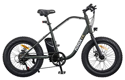 Nilox eBike J3, Unisex Adulto, Green Camo, Medium