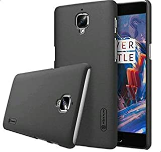 OnePlus 3 3T cases covers A3000 Nillkin Super Frosted Shield matte cover Case with LCD Protector - black Color