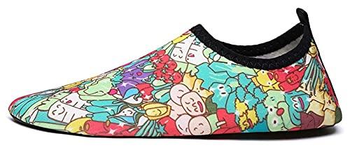 AMDHZ Schuhe am Strand Kinder rutschfeste weiche Schuhe Wasserschuhe Tauchschuhe Laufband Schuhe Tauchen Schnorcheln Strandschuhe Schwimmen stromaufwärts Schuhe im Freien Schuhe mit Wasser