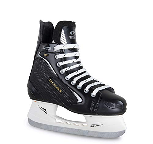 Botas - Draft 281 - Men's Ice Hockey Skates | Made in Europe (Czech Republic) | Color: Black, Size Adult 10