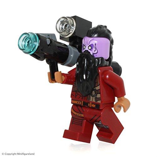 Taserface con cañón LEGO Minifigure Guardianes de la Galaxia