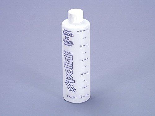 Polini - Envase medidor para mezcla de aceite de 250ml con tapa