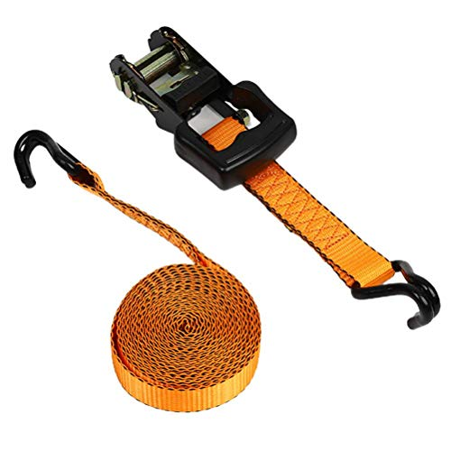 Correas de trinquete de alta resistencia para transporte de automóviles, correa de sujeción de trinquete de carga para electrodomésticos en movimiento equipos de césped motocicletas sujeción de carga