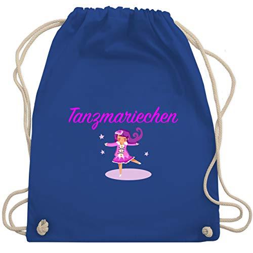Shirtracer Karneval & Fasching - Tanzmariechen pink - Unisize - Royalblau - turnbeutel lila - WM110 - Turnbeutel und Stoffbeutel aus Baumwolle